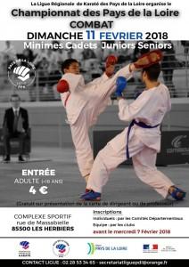Championnat PDL de Karate